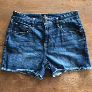 Jeans Shorts - Frayed